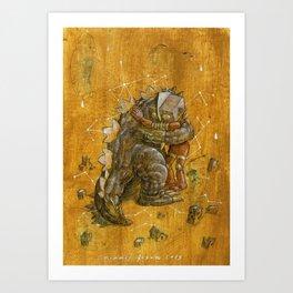 Sentaimental  Art Print