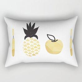 Pen Pineapple apple  Pen Rectangular Pillow