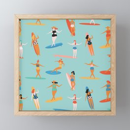 Mermaids Framed Mini Art Print