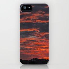Rippled Sunset iPhone Case