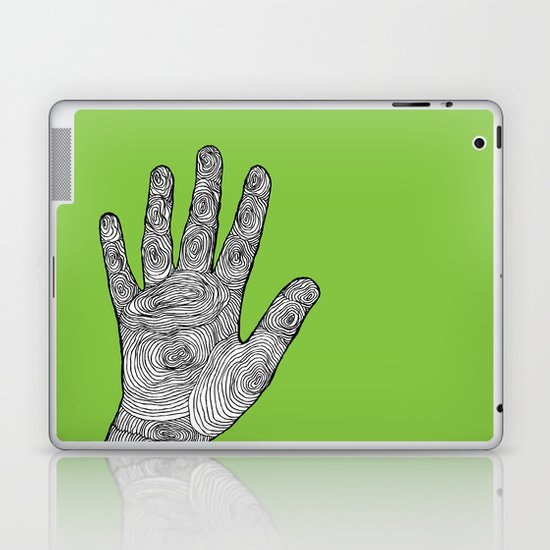 Handprint Laptop & iPad Skin