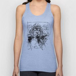 Face The Man On The Bus Unisex Tank Top