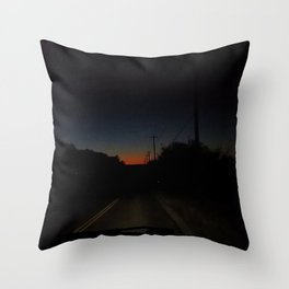 Long Distance Throw Pillow