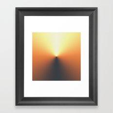 TIMECODE RISE Framed Art Print