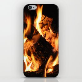 Warm me up iPhone Skin