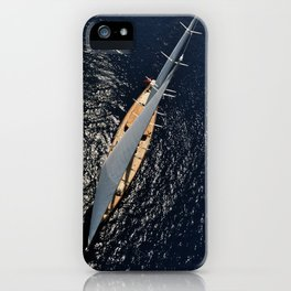 big sailing yacht iPhone Case