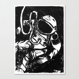 Space Man Canvas Print