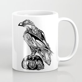 Tribal Raven Coffee Mug
