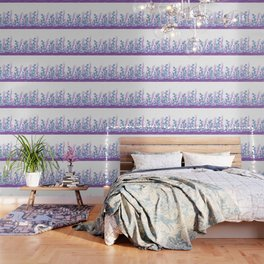 Astract Water Flowers Wallpaper