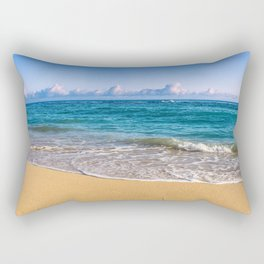 Morning on Maui's North Shore Rectangular Pillow