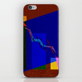 Fishs Drawing in colors iPhone Skin
