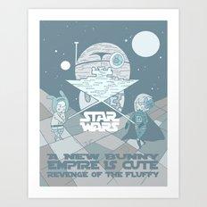 Star wars title. Art Print