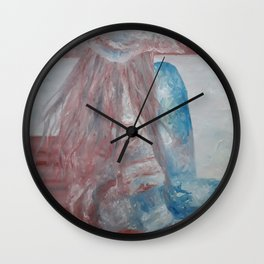 Enjoy The Moment by Lu Wall Clock