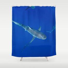 Hawaiian Shark VI Shower Curtain