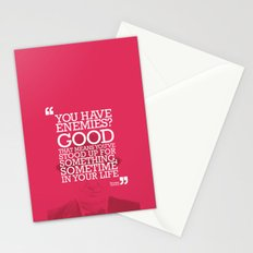You Have Enemies? Stationery Cards