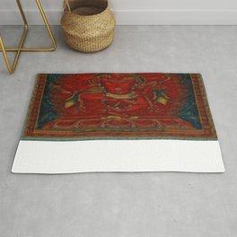 Kurukulla - Tibetan Buddhism Rug