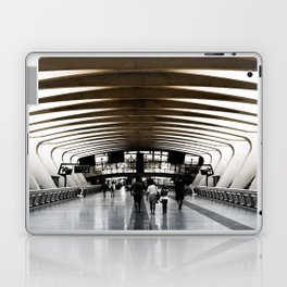 Lyon airport walkway Laptop & iPad Skin