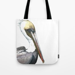 Pelican Portrait Tote Bag