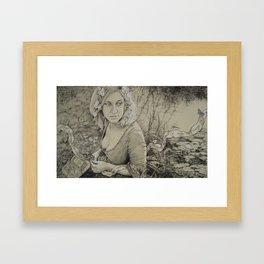 Ophelia Framed Art Print