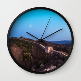 The Great Wall Moon Wall Clock