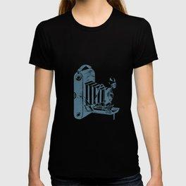 Vintage Foldable Camera T-shirt