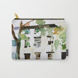 Brownstones and Tree Carry-All Pouch