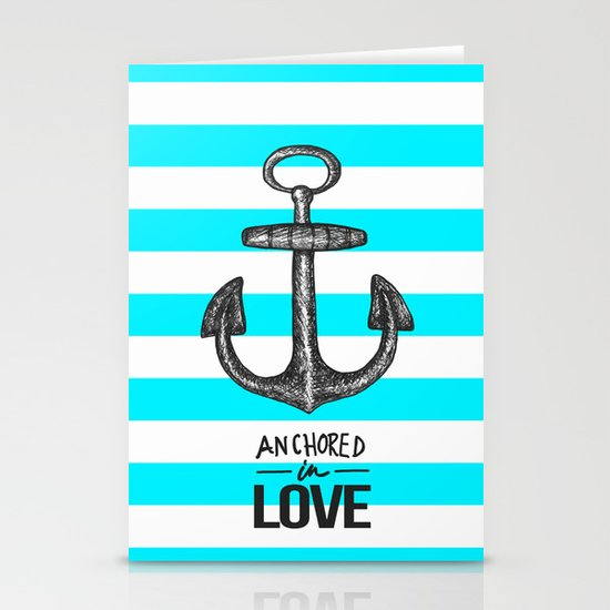 Anchored // Love Stationery Cards