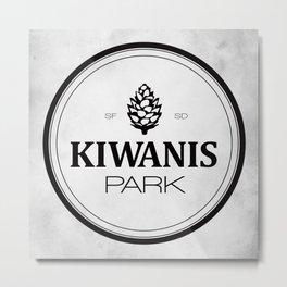 Kiwanis Park Metal Print