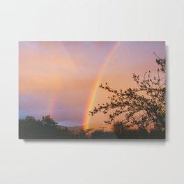Ojai Rainbow Metal Print