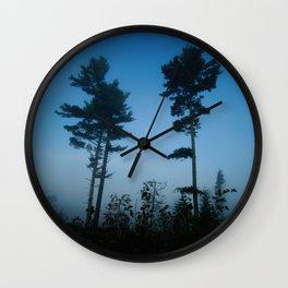 Minnesota Mist Wall Clock