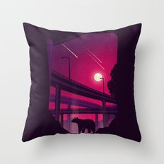 Over Passed Throw Pillow