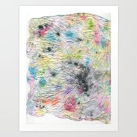 Spotted Mess Art Print