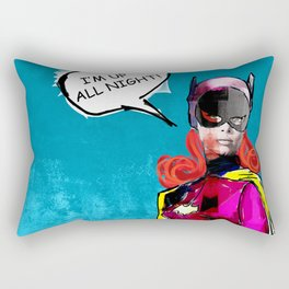 Batgirl Rectangular Pillow