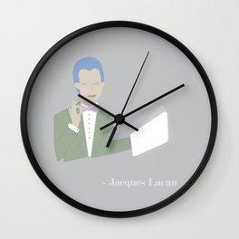 Tiny Lacan Wall Clock