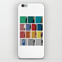 doctor iPhone & iPod Skins featuring Doctor Who? by The Joyful Fox