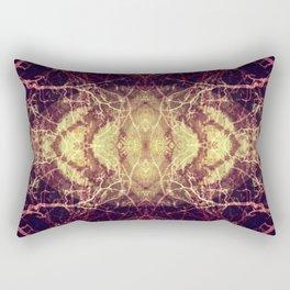 Burning Roots IV Rectangular Pillow