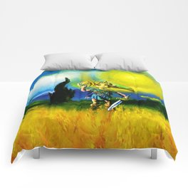 zelda in the meadow Comforters