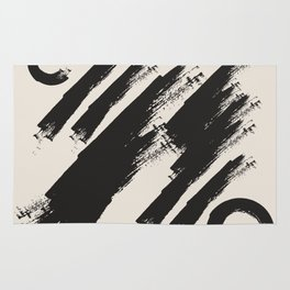 abstract drawing Rug
