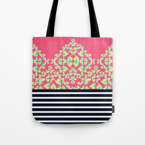 Sick of Chevrons Tote Bag