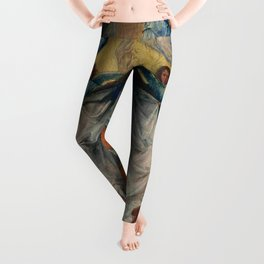 Michel Sittow – the assumption of the virgin Leggings