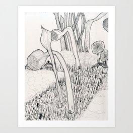 Biolandscapia Art Print