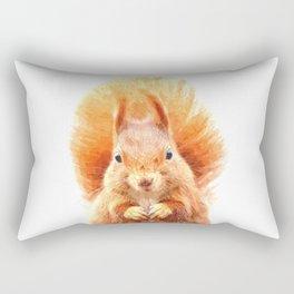 Squirrel Portrait Rectangular Pillow