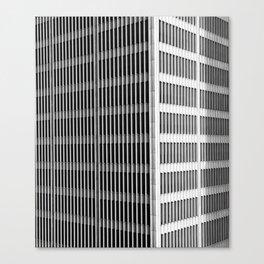 Modern Architecture Downtown Detroit Yamasaki Canvas Print