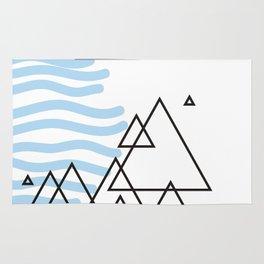 Ocean Mountains Island Rug