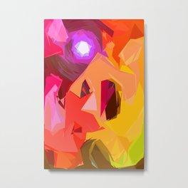 Colour Inflation Metal Print