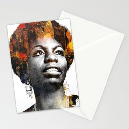 Nina Simone Stationery Cards