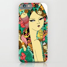 Girl with Tattoo iPhone 6 Slim Case
