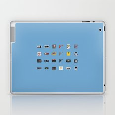 8-BIT Retro Console & Game Laptop & iPad Skin