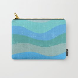 Abstract Waves of Ocean Carry-All Pouch