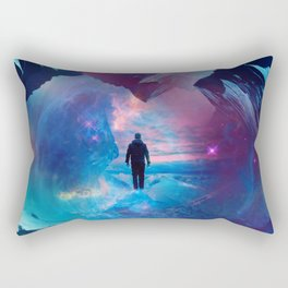 I am tired of earth Dr manhattan Rectangular Pillow